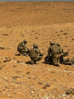 CTP continue support of Army EOD and Search assets in Middle East