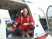 CTP MD, Phil Smith, invited to observe an operational days flying with the Essex and Herts Air Ambulance